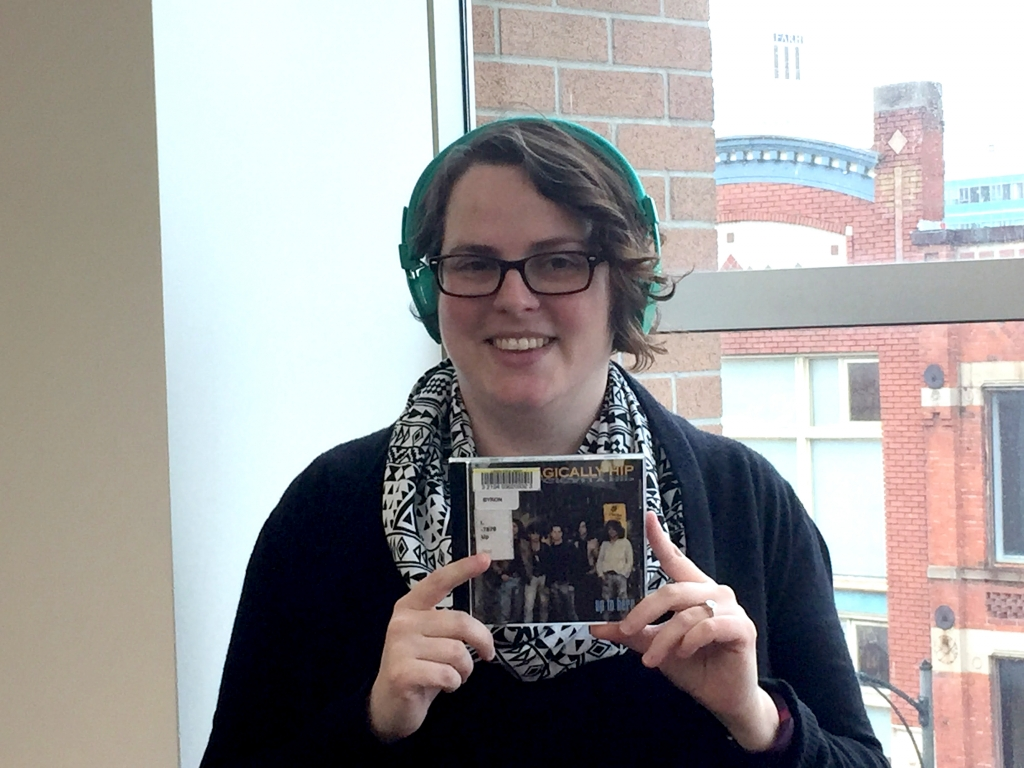 kristen and her borrowed cd