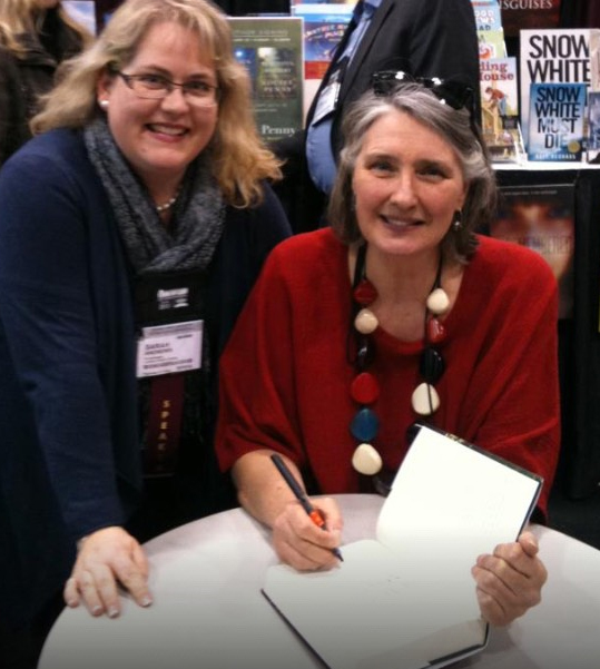 sarah's book and photo for louise penny books