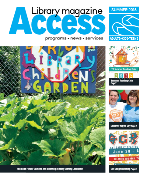 Access Summer 2015 cover