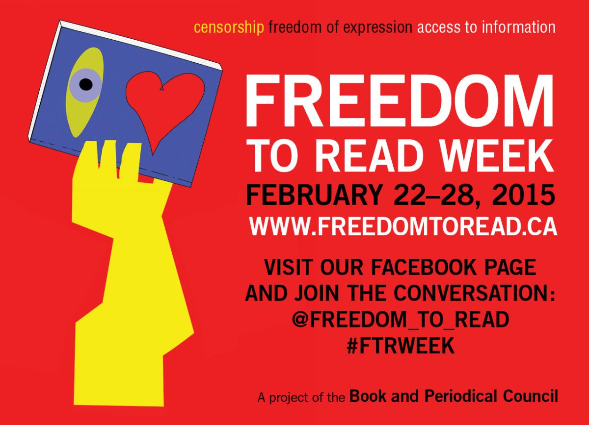 Freedom to read banner