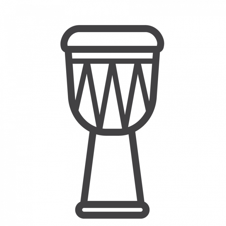 Djembe outline