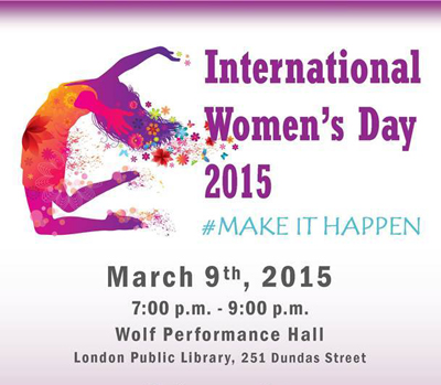 International Women's day 2015 poster