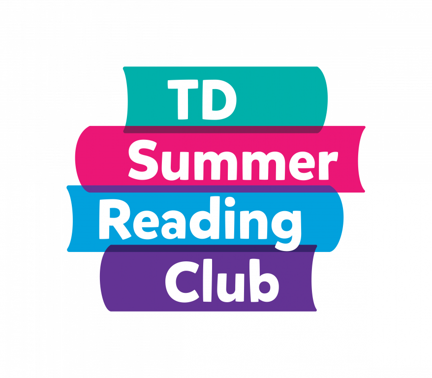 td summer reading club logo