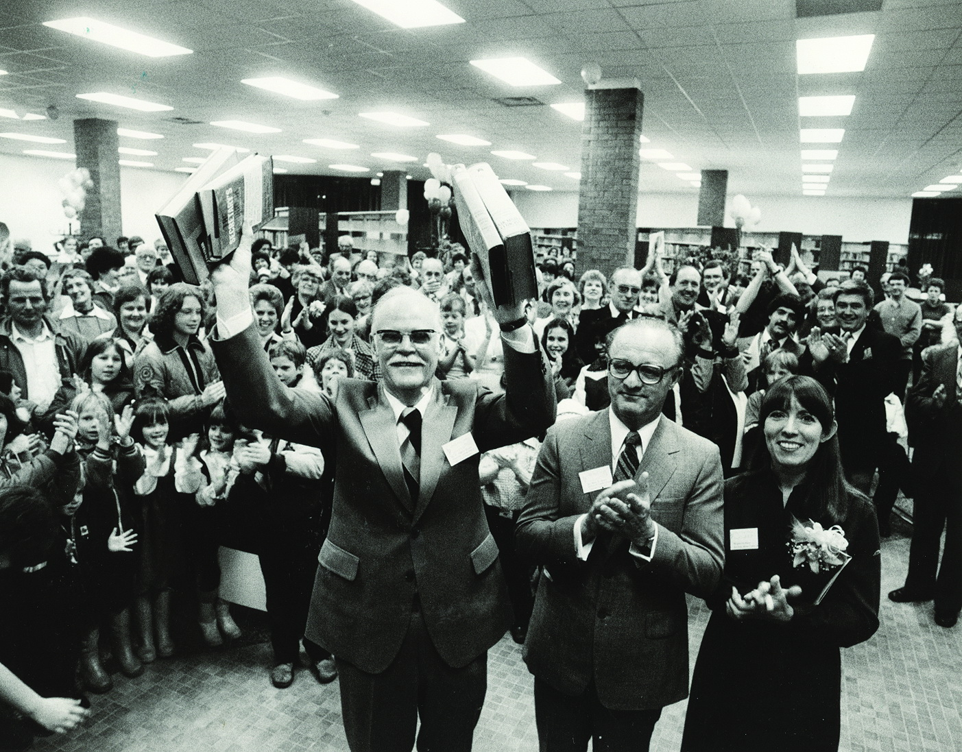 Beaock Library opening 1982
