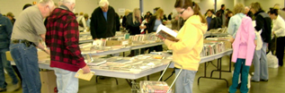 Browsing at the Book Sale