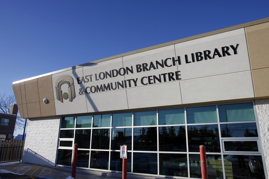 Exterior of East London Library