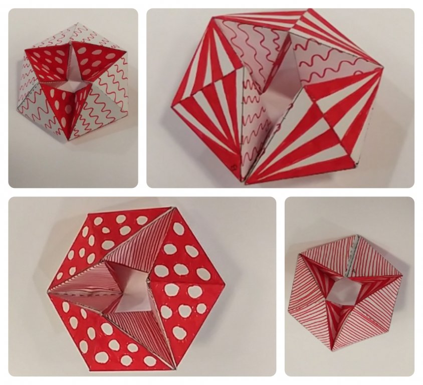 how to make a fidget toy with paper