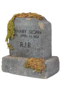 image of a gravestone