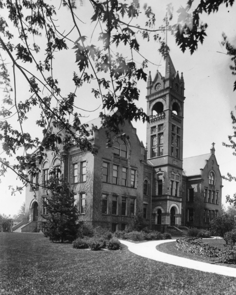 Black and white photograph of the Normal School