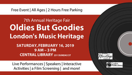 7th Annual Heritage Fair Oldies But Goodies London's Music Heritage