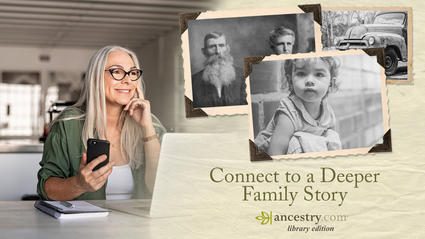 Connect to a deeper family story