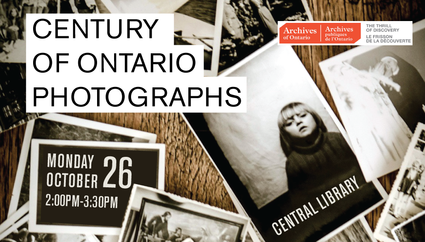 century of ontario photographs