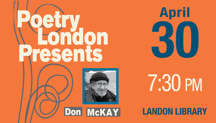 Poetry London Presents Don McKay