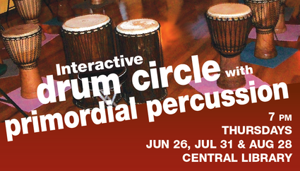 Interactive Drum Circle with Primordial Percussion