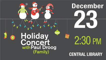Holiday Concert with Paul Droog (Family)