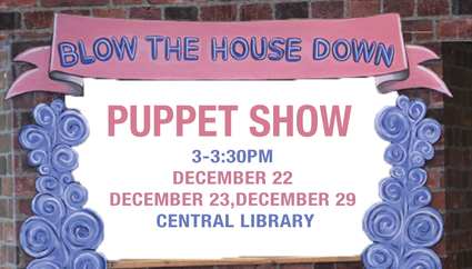 blow the house down puppet show