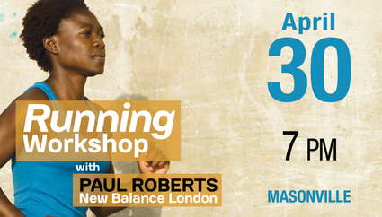 Running Workshop with Paul Roberts New Balance London