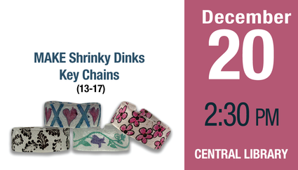 MAKE Shrinky Dinks Key Chains (13-17)