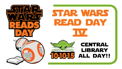 Star Wars Reads Day Poster