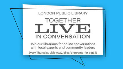together live in conversation every thursday