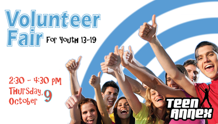 Volunteer Fair for youth