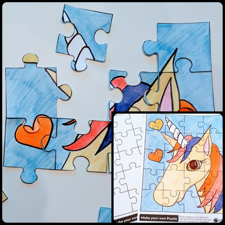 It is an image of Priceless Make Your Own Puzzle Printable