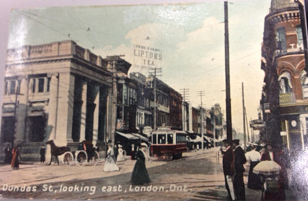 Picture It Dundas Street In Postcards London Public Library