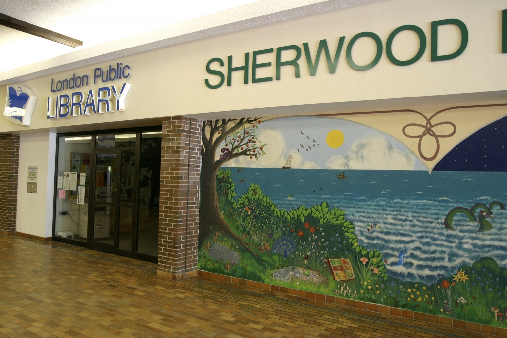 Exterior of Sherwood Library
