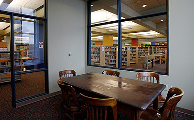Study Room at Central library