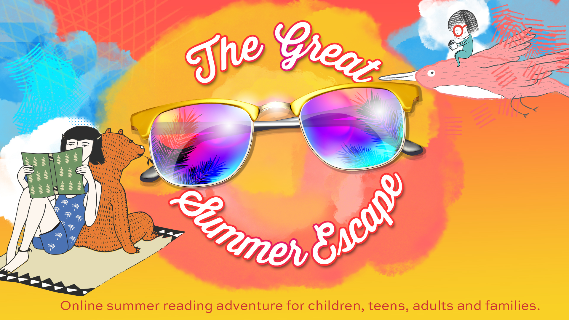 Summer - the great summer reading escape