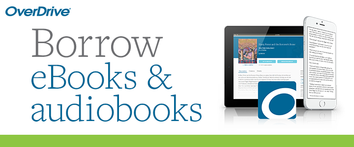 borrow ebooks and audiobooks with overdrive