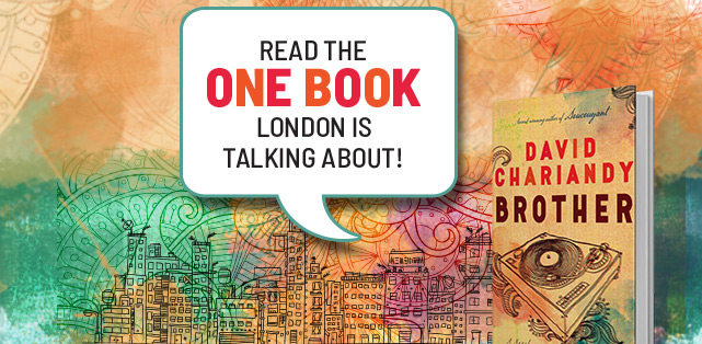 Brother by David Chariandy - One Book One London 2018 - Read the One Book London is talking about!