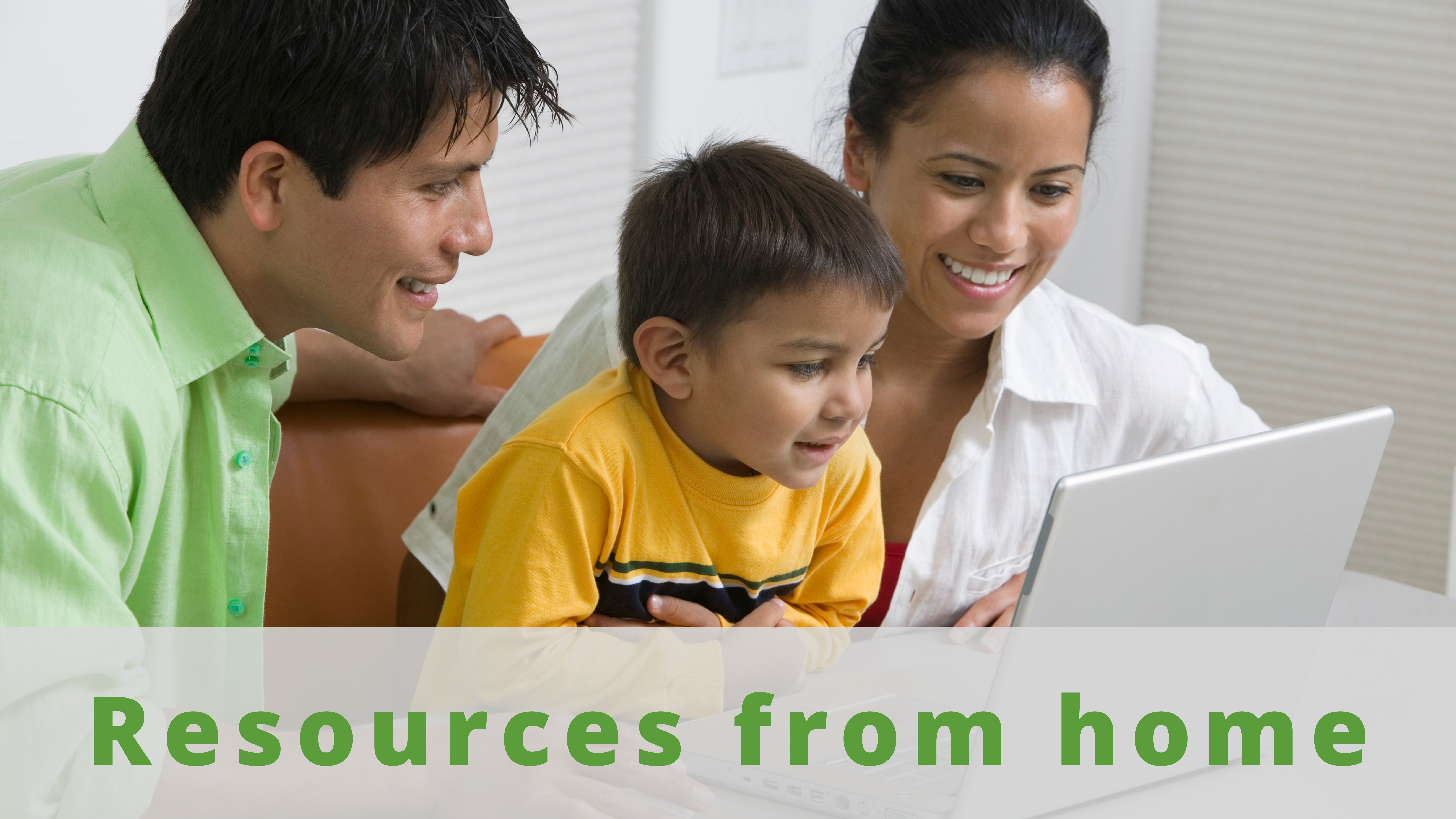 Resources from Home - Resources from home