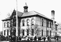 photograph of Talbot Street School London Ontario