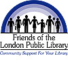 Friends of the London Public Library logo