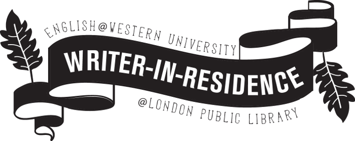 english at Western writer in resience at London Public Library