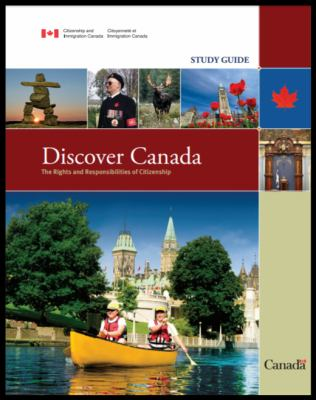 Discover Canada link to catalogue