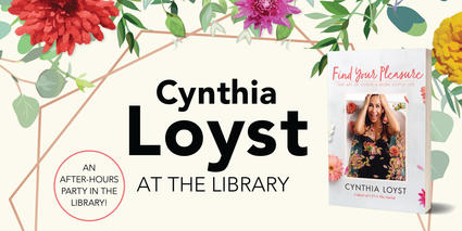 Cynthia Loyst at the Library