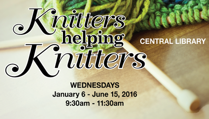 Knitters Helping Knitters
