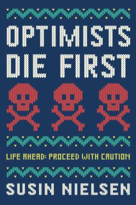 cover image for optimists die first